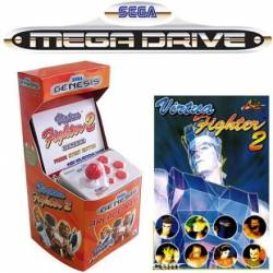 Sega Mega Drive Arcade Nano Video Game Console - Virtua Fighter2