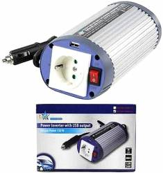 INVERTER 150W 24V + USB HQ-INV150WU-24