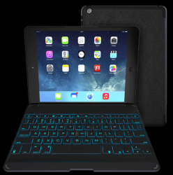 Zaggkeys Cover with Backlit Keyboard (Apple iPad mini)