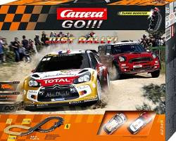 CARRERA SLOT 1:43 GO!!! JUST RALLY (62345)
