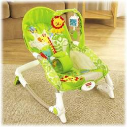 FISHER PRICE - NEWBORN TO TODDLER PORTABLE ROCKER (BCD28)