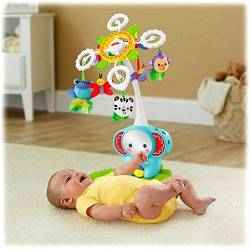 FISHER PRICE DELUXE CRIB COT-TO-FLOOR MOBILE (BFR22)