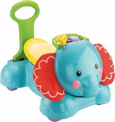FISHER PRICE - 3-IN-1 BOUNCE - STRIDE & RIDE ELEPHANT (CBN62)