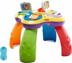 FISHER PRICE - LAUGH AND LEARN PUPPY & FRIENDS LEARNING TABLE (IN GREEK) (CFN52)