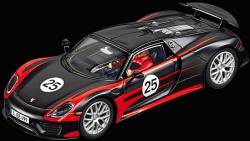 CARRERA SLOT CAR - DIGITAL 132 PORSCHE 918 SPYDER NO.25 (30697)