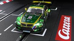 CARRERA SLOT CAR - DIGITAL 132 BMW Z4 GT3 SCHUBERT MOTORSPORT NO.12 24H DUBAI 2013 (30699)