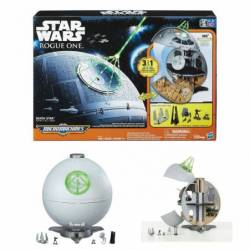 HASBRO STAR WARS ROGUE ONE - MICROMACHINES DEATH STAR PLAYSET (B7084)