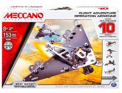 MECCANO Flight Adventure 10 Model Set Συναρμολογούμενα