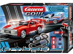 Carrera GO!!! Smoking Tires - Slot Racing System 1:43 20062497 ΠΑΡΑΔΟΣΗ ΑΥΘΗΜΕΡΟΝ