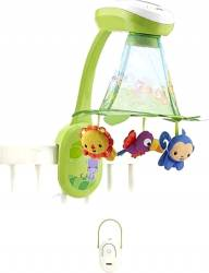 FISHER PRICE - RAINFOREST GROW-WITH-ME PROJECTION MOBILE 2-ΙΝ-1 (DFP09)