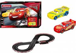 CARRERA Evolution Slot 1:24 Disney Cars 3 - Race Day Lightning McQUEEN vs Dinoco Cruz Αυτοκινητόδρομος  (20025226)