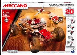 MECCANO Desert Adventure 20 Model Set Συναρμολογούμενα