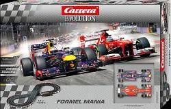 CARRERA SLOT EVOLUTION FORMEL MANIA (25203)