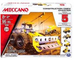 MECCANO Construction Crew 5 Model Set Συναρμολογούμενα