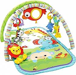 FISHER PRICE - RAINFOREST FRIENDS 3-IN-1 MUSICAL ACTIVITY GYM (CHP85)