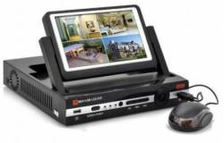 DVR4CH With 7 Inch LCD Screen