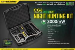 ΦΑΚΟΣ LED NITECORE CHAMELEON SERIES CG6 NIght Hunting Kit