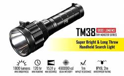 NITECORE Tiny Monster TM38, 1800Lumens,1400metres Φακός LED