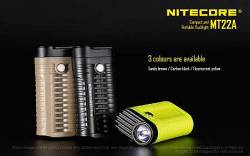 ΦΑΚΟΣ LED NITECORE MULTI TASK MT22A Black,Yellow,Sandy Brown