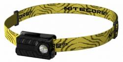 NITECORE HEADLAMP NU20 BLACK & YELLOW ΚΕΦΑΛΗΣ 360 Lumens ΦΑΚΟΣ LED