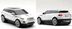 MOUSE RANGE ROVER EVOQUE WIRELESS WHITE
