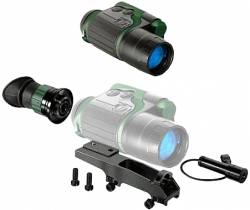 YUKON 26141 NIGHT VISION SPARTAN 3X42 SCOPE KIT ΜΟΝΟΚΥΑΛΙ