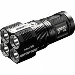 NITECORE Tiny Monster TM28, 6000 Lumens + 4XIMR18650 + prot. board ΦΑΚΟΣ LED