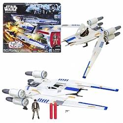 HASBRO DISNEY NERF: STAR WARS ROGUE ONE - REBEL U-WING FIGHTER (B7101)